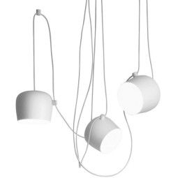 Flos Aim hanglamp set van 3 LED wit