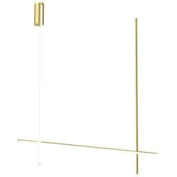 Flos Coordinates C2 long plafondlamp LED