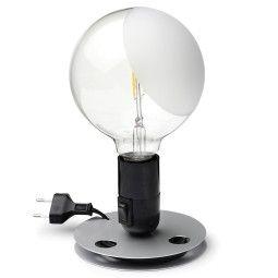 Flos Tweedekansje - Lampadina tafellamp LED zwart