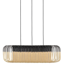 Forestier Bamboo Oval M hanglamp