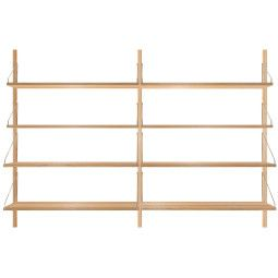 Frama Shelf Library H1148 Double wandkast