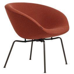 Fritz Hansen Pot fauteuil black