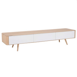 Gazzda Ena tv Dressoir 225x42 whitewash