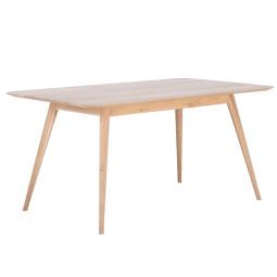 Gazzda Stafa Tafel hout 160x90 whitewash