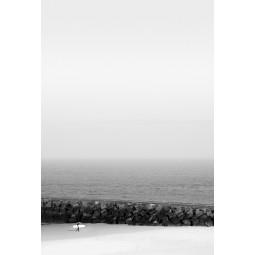 Get Art Surfer op strand kunstfotografie