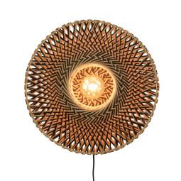 Good&Mojo Bali wandlamp medium Ø60