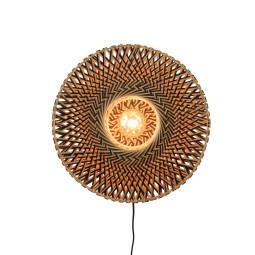 Good&Mojo Bali wandlamp small Ø44
