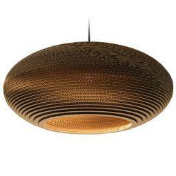 Graypants Disc 24 hanglamp bruin