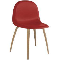 Gubi Gubi 3D HiRek stoel met eiken onderstel