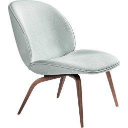 Gubi Beetle lounge wood fauteuil