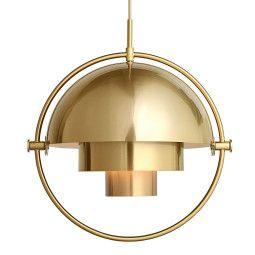 Gubi Tweedekansje - Multi-Lite hanglamp messing