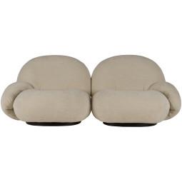 Gubi Pacha 2-zits sofa, dedar belsuede 007