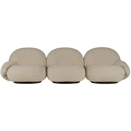 Gubi Pacha 3-zits sofa, dedar belsuede 007