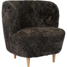 Gubi Stay Lounge Chair Wol Eiken