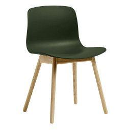 Hay AAC12 stoel met mat gelakt onderstel