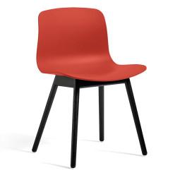 Hay About a Chair AAC12 stoel zwart gelakt onderstel