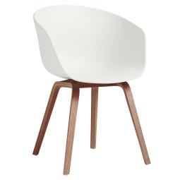 Hay About a Chair AAC22 ECO stoel met walnoot onderstel
