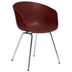 Hay About a Chair AAC26 stoel met chroom onderstel