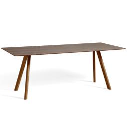 Hay Copenhague CPH30 tafel 200x90, gelakt walnoot
