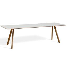 Hay Copenhague CPH30 tafel 250x90, gelakt walnoot