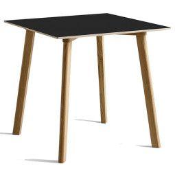 Hay CPH Deux 210 tafel 75x75 met mat gelakt eiken onderstel