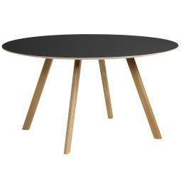 Hay Copenhague CPH25 tafel 140, gelakt eiken
