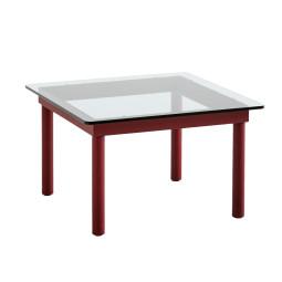 Hay Kofi salontafel rood gelakt eiken 60x60