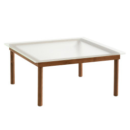 Hay Kofi salontafel walnoot 80x80