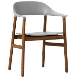 Normann Copenhagen Herit Armchair Smoked Oak stoel
