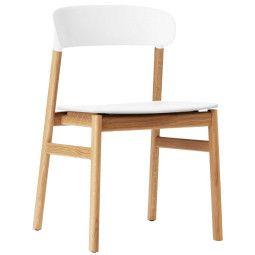 Normann Copenhagen Tweedekansje - Herit Oak stoel wit