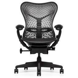 Herman Miller REFURBISHED Mirra 1 Chair bureaustoel graphite frame