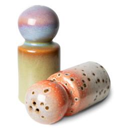 HKliving 70's Ceramic Peper en zout set