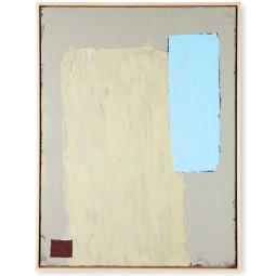 HKliving Abstract Pistachio/Blue schilderij 63x83