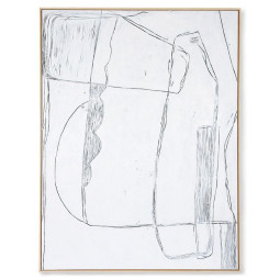 HKliving Abstract schilderij 123x163