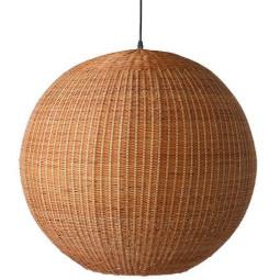 HKliving Ball Bamboe hanglamp 60