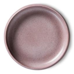HKliving Bold and Basic Diep bord set van 2 purple