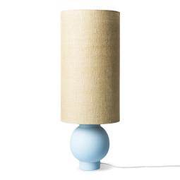 HKliving Ceramic Ice Blue tafellamp