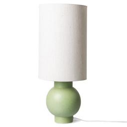 HKliving Ceramic Pistachio Green tafellamp