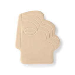 HKliving Face Wall ornament S taupe