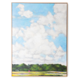 HKliving Framed Dutch Sky schilderij 123x163