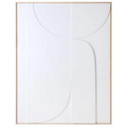 HKliving Framed Relief schilderij 100x123