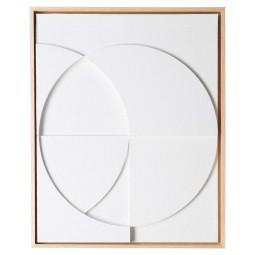 HKliving Framed Relief schilderij 43x53