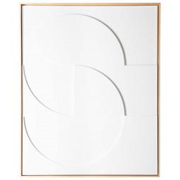 HKliving Framed Relief schilderij 83x103