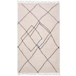 HKliving Handwoven Zigzag vloerkleed 150x240