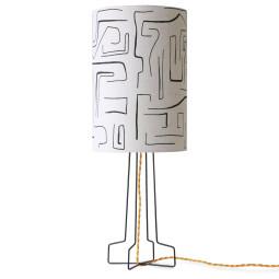 HKliving Metal Wire tafellamp