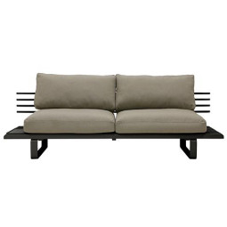 HKliving Outdoor Lounge Sofa 2-zits loungebank