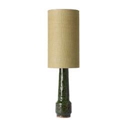 HKliving Retro Stoneware tafellamp green