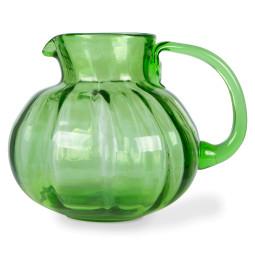 HKliving The Emeralds Glass Jug karaf