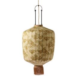 HKliving Traditional Lantern XL hanglamp Doris for HK vintage print