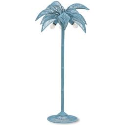 HKliving Wicker Palm vloerlamp